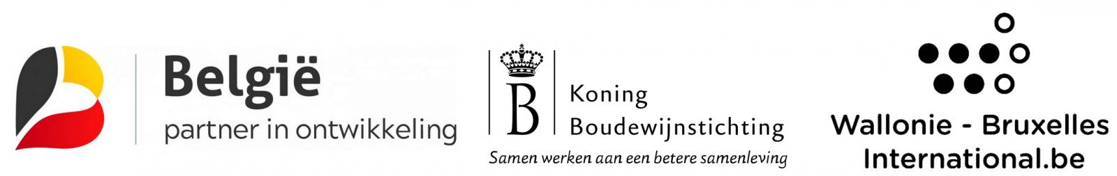 Met de steun van de Belgische Ontwikkelingssamenwerking, de Koning Boudewijnstichting en Wallonie-Bruxelles International (WBI).