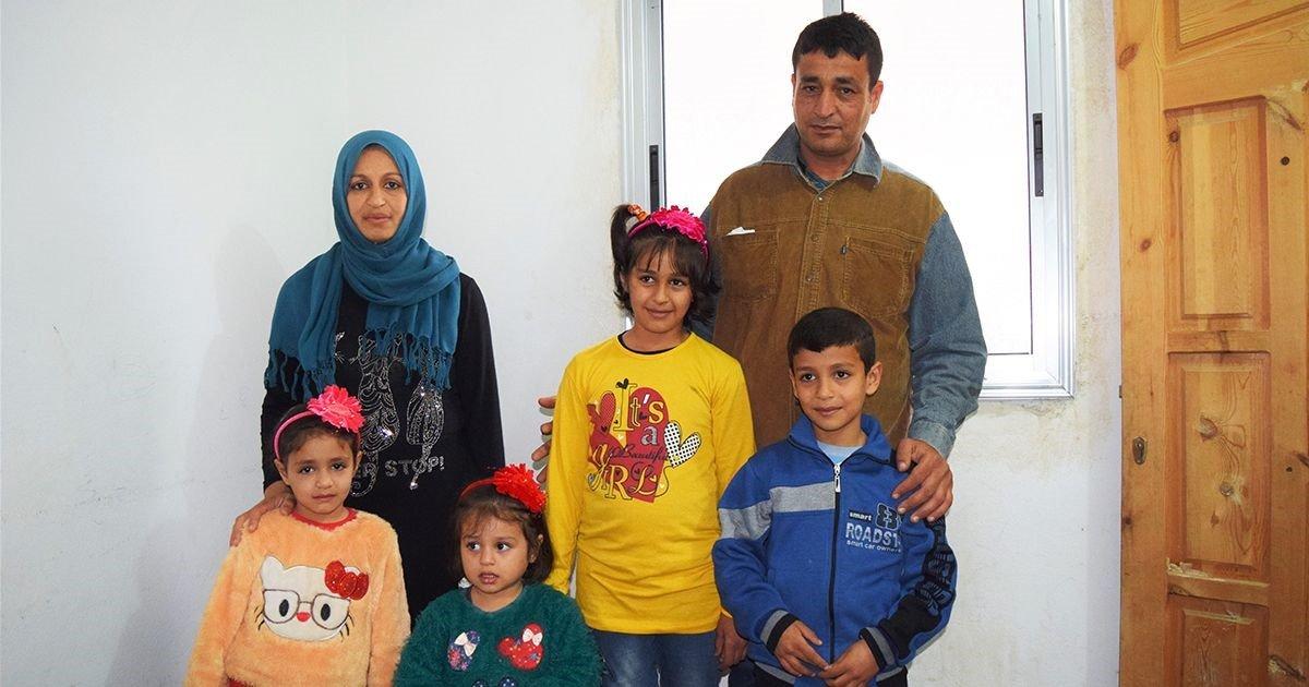 Syrisch gezin in gevangenis